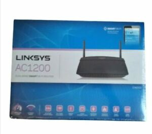 New Linksys AC1200 Dual Band Smart WiFi Router EA6100-W SB1437