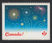 DIE CUT = FIREWORKS = CELEBRATION Canada 2008 #2259i MNH