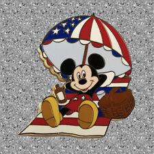 Mickey Americana Pin - Mickey at the Beach - WDW DISNEY Pin LE 2000