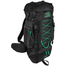 Highlander Rambler 44 Rucksack Hiking Backpack Cadet Pack 44L Black Forest Green