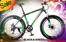 Brand New Cyber Z300 Black&Green 26 inch 21 Gears Shimano  Mountain bike+bonus