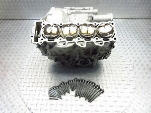 2010 10-13 BMW S1000RR OEM Crankcase Crank Case Engine Block Pistons