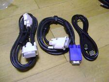 Monitor de computadora y la impresora DVI-D a DVI-D, DVI-D a VGA Y USB a B Cable-Pack