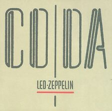 LED ZEPPELIN - CODA - CD JEWELCASE REMASTERED NEW SEALED