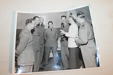 """Original WW2 Royal Canadian Air Force Officers w/Woman Photograph 10"""" by 8"""""""