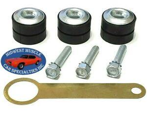 GM Wiper Motor Mounting Bushing Rubber Grommet W/ Correct B&H Head Stamp Screw B