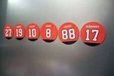 Flyers Fridge Magnets: Lindros, Recchi, Leclair, Hextall Brindamour Philadelphia