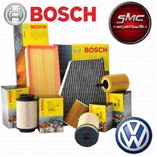Kit tagliando 4 FILTRI BOSCH VW PASSAT 2.0 TDI 3C2 dal 2005 al 2010 140 CV