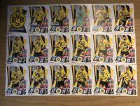 MATCH ATTAX 2020/21 FULL TEAM SET OF ALL 18 BORUSSIA DORTMUND CARDS DOR1-DOR18
