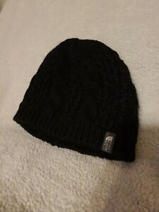 Womens Girls Thee North Face Black Hat Winter Snow