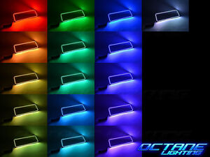 03-06 Chevy Silverado Multi-Color LED RGB Lower Driver Side Headlight Halo Ring