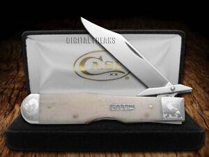 Case xx Cheetah Knife Scrolled Single Shot Natural Bone 1/200 Pocket