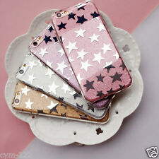 Etoiles Strass Housse Etui Coque iPhone 4 5 SE 6 7 Plus Bling Souple luxe Cover