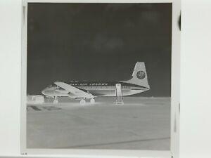 DAN AIR LONDON Hawker Siddeley 748 G-BEJD Original Large Negative 1978