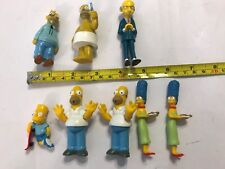 8x GENUINE 'FOX' (20th CFFC) THE SIMPSONS FIGURES from 1997 & 1999 burns bart ++