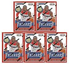 2014/15 Panini THREADS BASKETBALL Blaster 5-BOX LOT - WIGGINS RC!