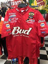Dale Earnhardt Jr. Budweiser Nextel Nascar Race Used Pit Crew Shirt L