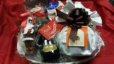 Cesta natalizia idea regalo alimentari FERRARA lambrusco panettone cioccolato