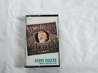 Kenny Rodgers Twenty Greatest Hits cassette 1983 Liberty Records Capitol