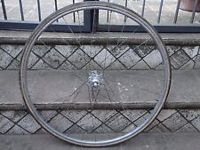 Vintage front wheel Campagnolo Nuovo Tipo high flange/Nisi.L'Eroica