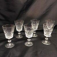 Thos Thomas Webb Crystal Goblets Set of 6