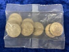 More details for x10 1986 scottish thistle commemorative commonwealth games £2 in original rm bag