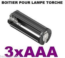 Boitier Bloc Support Coupleur 3 Piles AAA 3.6V ou 4.5V  Accu Pour Lampe Torche