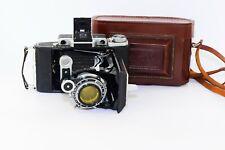 OLD RARE MOSKVA-4 Soviet Folding Camera Super Ikonta Medium Format w/s lens EXC