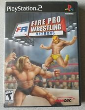 Fire Pro Wrestling Returns (Sony PlayStation 2, 2007) New and Factory Sealed!