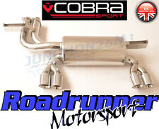 BM23 Cobra Sport BMW M3 E46 Exhaust Rear Silencer Stainless Steel Back Box Coupe