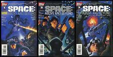 Space Above and Beyond Comic set 1-2-3 Lot Official Comics Adaptation Roy Thomas
