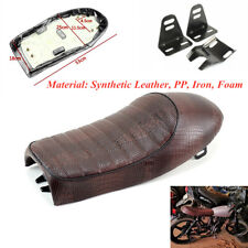 Motorcycle Seat Comfort Hump Cushion Seat With Mounting Bracket