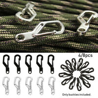 Tools Outdoor Hook Spring Clips D Carabiner Camping Keyring D-Ring Key Chain
