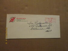 NHL New Jersey Devils Vintage Dated 1985 Logo Hockey Business Envelope