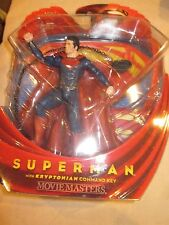 DC UNIVERSE SUPERMAN FIGURINE KRYPTONIAN COMMAND KEY MOVIE MASTERS BRAND NEW