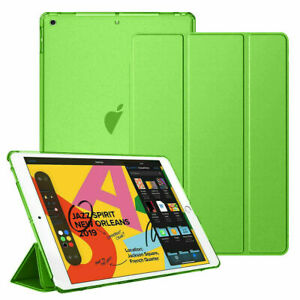 For iPad 8th 2020 7th Gen 2019 10.2'' Ultra-Slim Leather Folio Stand Case Cover