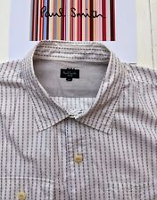 PAUL SMITH MEN'S SHIRT Size XXL- Excellent Condition & VERY COOL