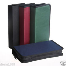 CD VCD DVD 80 Discs Storage Holder Cover Carry Case Zipper Bag Orananizer Box