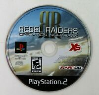 PS2 Rebel Raiders: Operation Nighthawk (Sony PlayStation 2, 2006) Disc Only