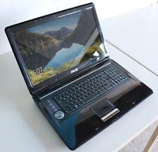 Asus N90s * 18 Zoll FULL HD* Windows 10 64 * INTEL DUAL * BLURAY * HDMI QWERTZ