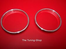 Fits Rover 600 Honda Accord 93-99 Chrome Heater Rings - Set Of 2 Alloy Surrounds