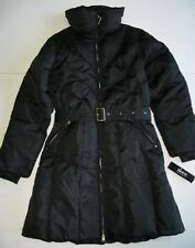 SKEA Womens Black Down BRI Long Coat (12) NWT