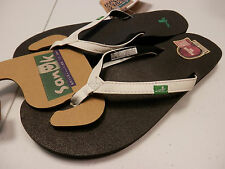 SANUK WOMENS SANDALS YOGA JOY WHITE SWS10275 WHT SIZE 9