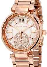 Ladies Michael Kors Sawyer Chronograph Watch MK6282