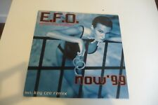 ELECTRIC FRUIT ORCHESTRA MAXI 33T E.F.O. NOW' 99 . SEXY NUDE COVER CHEESECAKE.