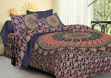 Bohemian Indian Mandala Bedding Quilt Duvet Cover Super king Size Comforter Set