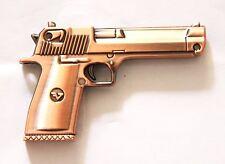 Pistola Gun cromo-Computer Stick USB con 8 gb de memoria/USB Flash Drive