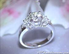 Solitäre Echtschmuck-Ringe mit Diamant für Damen