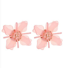 MARNI H&M Pure Pink  Flower Earrings