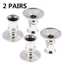 4pcs Candle holder Taper Standard Candlestick Pillar Centerpiece Durable